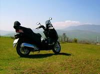 Z kategorią B motocyklem