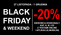 BLACK FRIDAY & WEEKEND w Grupie IMAGE. Rabat 20%!